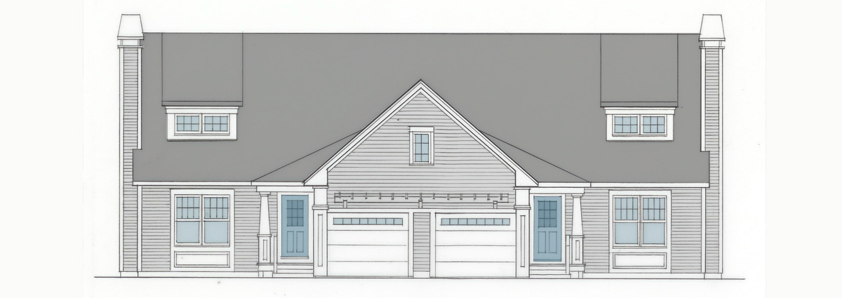 Mill Pond Village Home Rendering